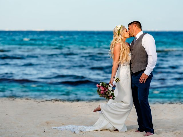Brandon and Chloe's Wedding in Playa del Carmen, Mexico 26