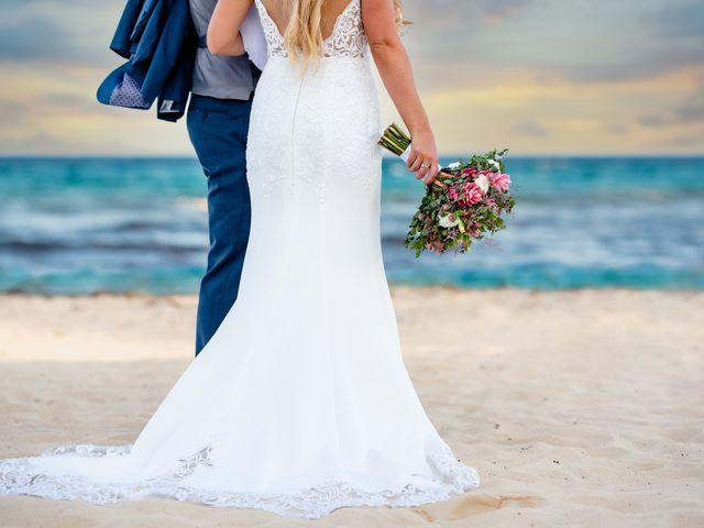 Brandon and Chloe's Wedding in Playa del Carmen, Mexico 28
