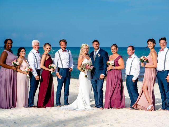 Brandon and Chloe's Wedding in Playa del Carmen, Mexico 30