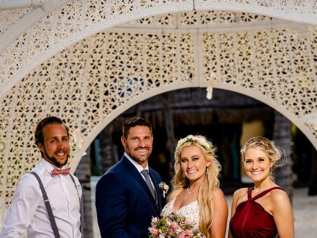 Brandon and Chloe's Wedding in Playa del Carmen, Mexico 33