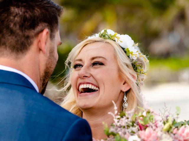Brandon and Chloe's Wedding in Playa del Carmen, Mexico 34