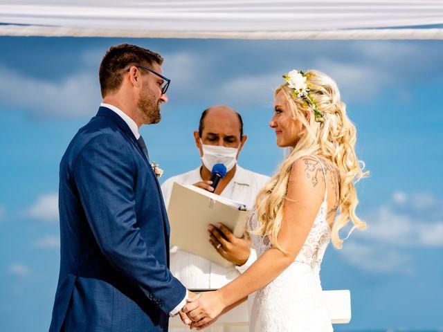 Brandon and Chloe's Wedding in Playa del Carmen, Mexico 35