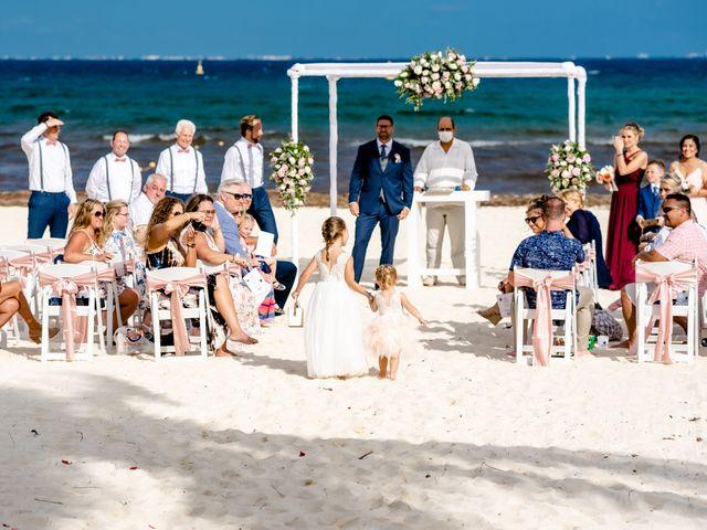 Brandon and Chloe's Wedding in Playa del Carmen, Mexico 38