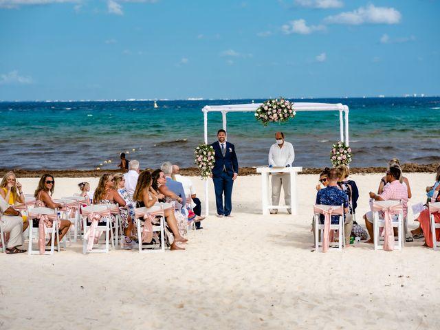 Brandon and Chloe's Wedding in Playa del Carmen, Mexico 39