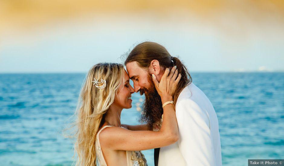 Joshua and Lindsay's Wedding in Playa Mujeres, Mexico