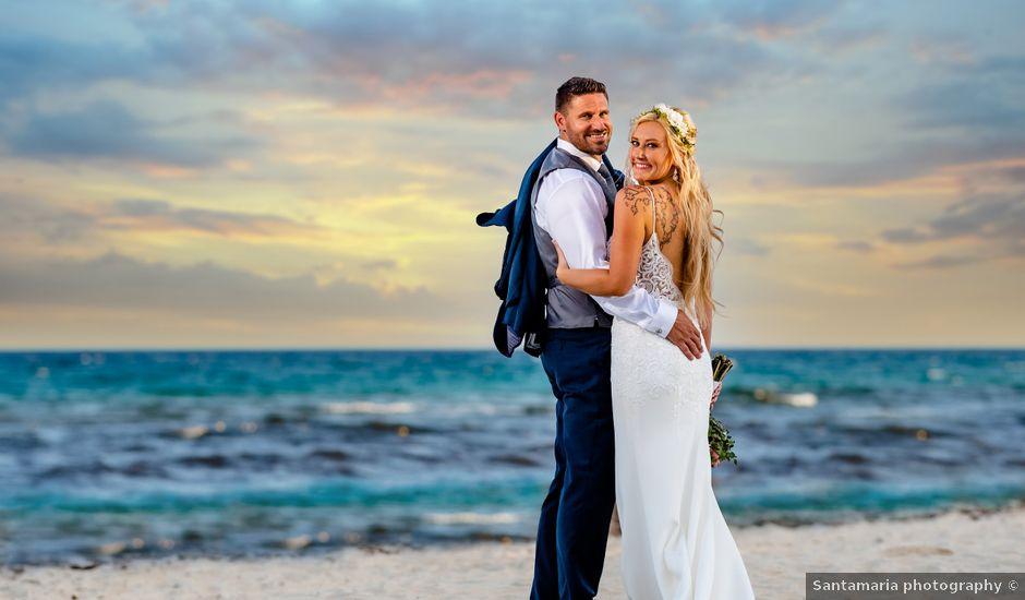 Brandon and Chloe's Wedding in Playa del Carmen, Mexico