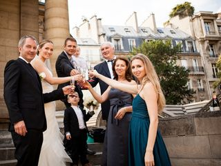 Nina and Randy's Wedding in Paris, France 12