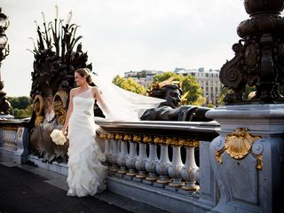 Nina and Randy's Wedding in Paris, France 13
