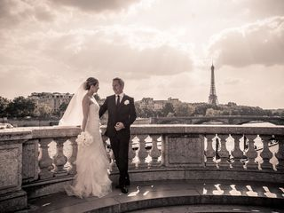 Nina and Randy's Wedding in Paris, France 15