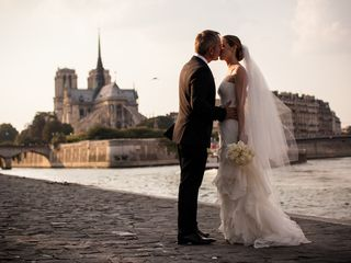 Nina and Randy's Wedding in Paris, France 18