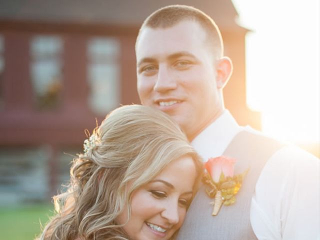 The wedding of Billy and Kristyn