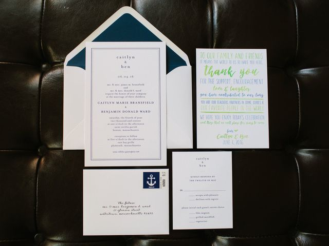 Caitlyn and Ben's Wedding in Plymouth, Massachusetts 1