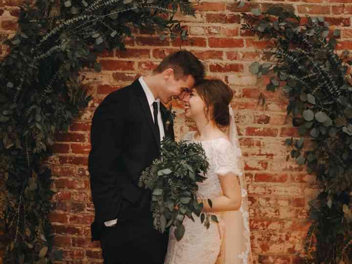 The wedding of Kaela and Toby