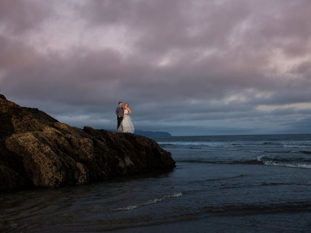 Rhiannon and Colby's Wedding in Tillamook, Oregon 1