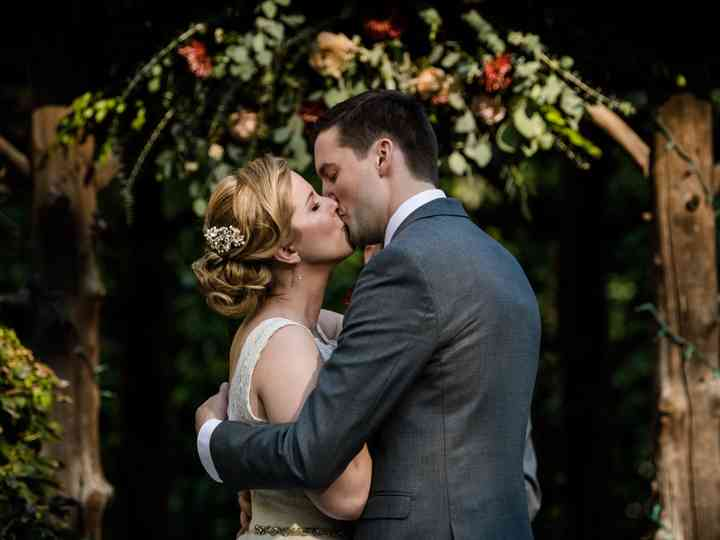The wedding of Erin and Paul