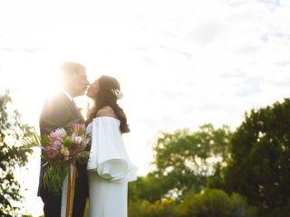 The wedding of Araceli and Jack