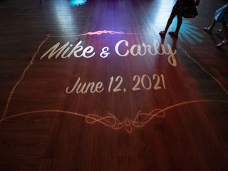 The wedding of Carly and Mike 3