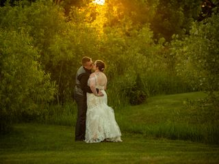 The wedding of Carly and Mike