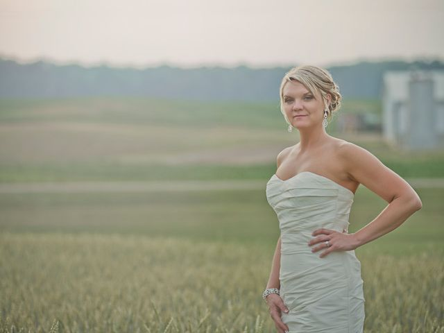 Katie and Andy's Wedding in Hanover, Michigan 1