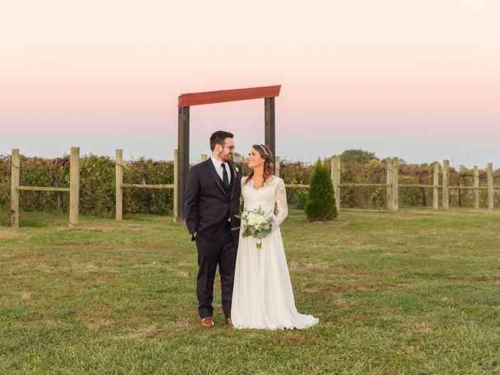 The wedding of Kristen and Scott