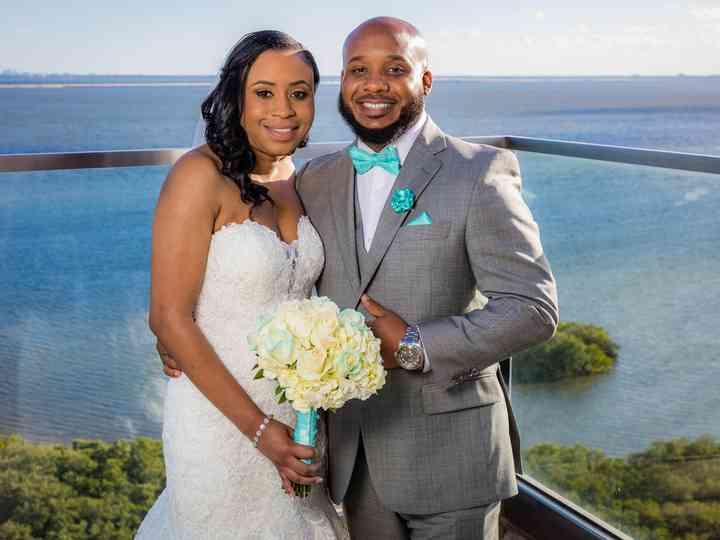 The wedding of Kezia and Travis
