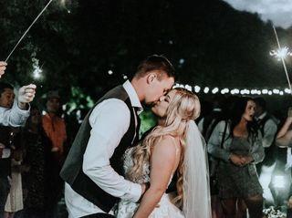 The wedding of Sara and Garrett 1