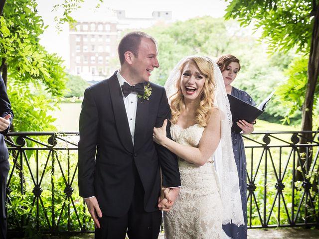 Zack and Katie's Wedding in New York, New York 73