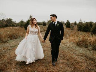 The wedding of Christina and Christopher