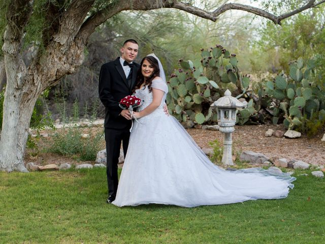 Jason and Porsche's Wedding in Tucson, Arizona 1