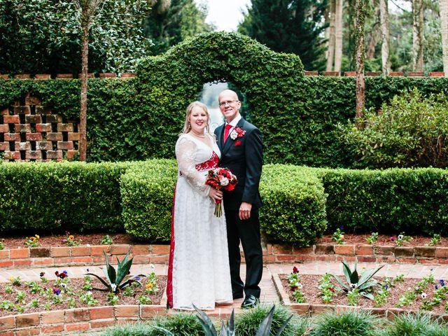 The wedding of Aubrey and David
