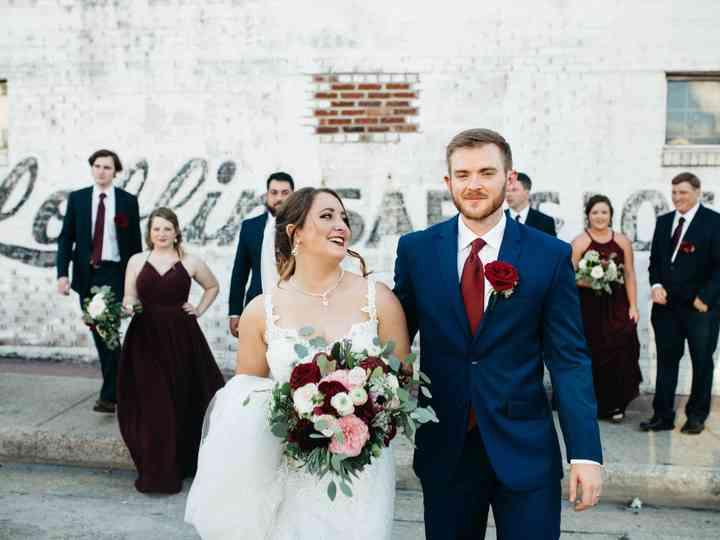 The wedding of Brandi and Greg