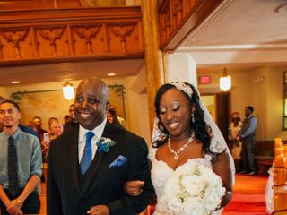The wedding of Candis  and Stephen 1