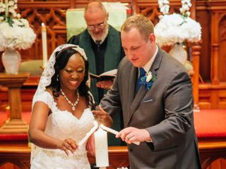 The wedding of Candis  and Stephen 2
