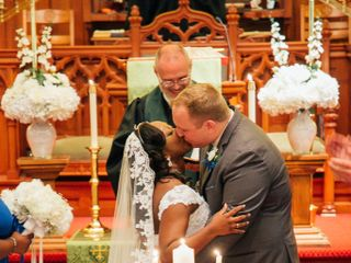 The wedding of Candis  and Stephen 3