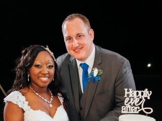 The wedding of Candis  and Stephen