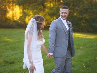 The wedding of Amanda and Dan