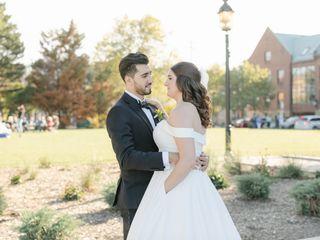 The wedding of Erin and Osama