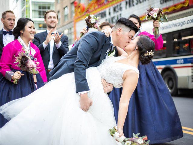The wedding of Anny and Jonathan