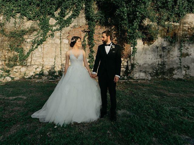 The wedding of Arhsley and Eduardo