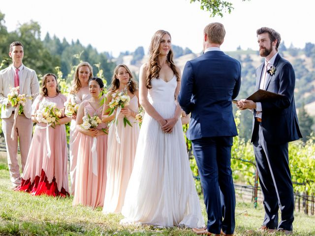 Emily and Greg's Wedding in Cloverdale, California 5