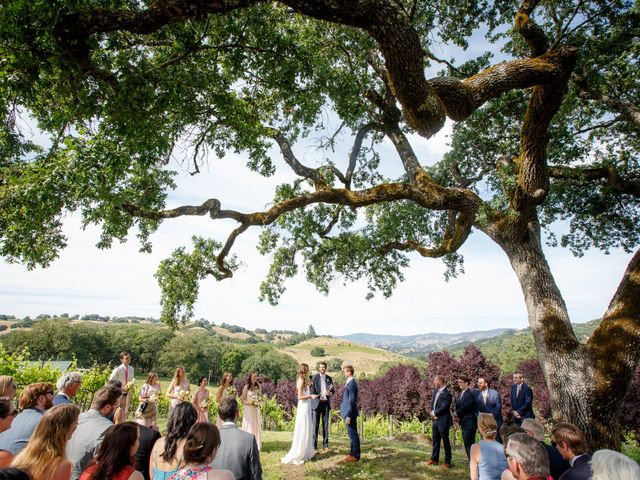 Emily and Greg's Wedding in Cloverdale, California 1