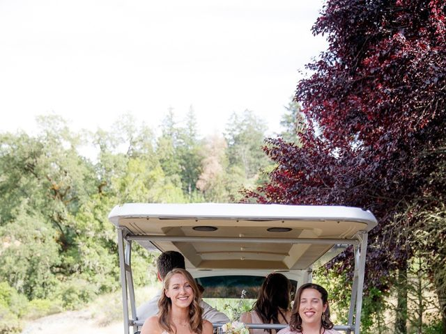 Emily and Greg's Wedding in Cloverdale, California 30