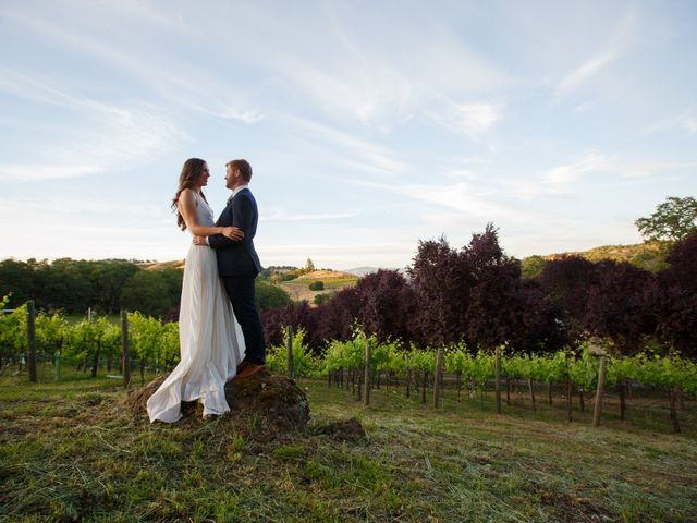 Emily and Greg's Wedding in Cloverdale, California 2