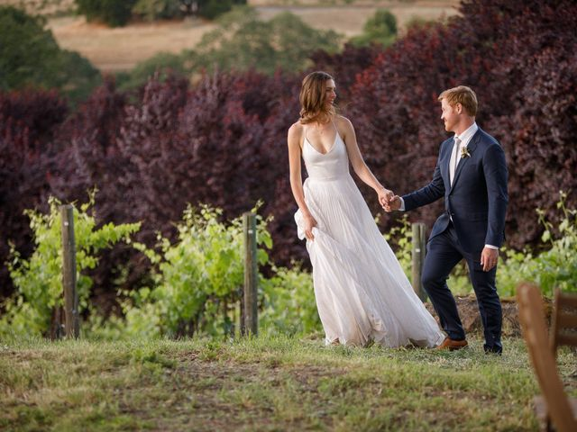 Emily and Greg's Wedding in Cloverdale, California 31