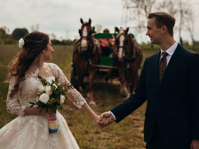 Kelsey and Bryson's Wedding in Lititz, Pennsylvania 19