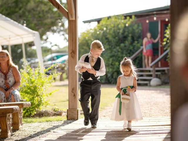 Kyland and Paige's Wedding in San Marcos, Texas 9