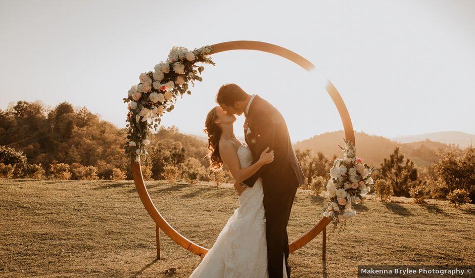 Steve and Vanessa's Wedding in Julian, California