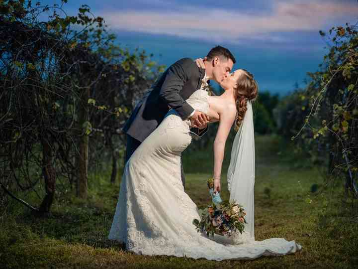 The wedding of Karra and Aaron