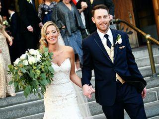 The wedding of Jennifer and Bruce