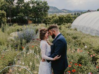 The wedding of Jill and Jason